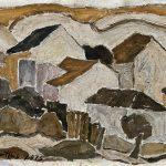 Casario, óleo sobre cartão, 24 x 36 cm, 1975. Coleção Ana Carolina e Fernando Barrueco.