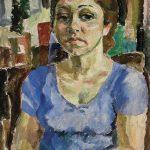 Retrato de Helena, óleo sobre tela, 50 x 40 cm, 1977. Coleção Particular.