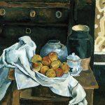 Cópia de Cézanne, óleo sobre tela, 50 x 60 cm, 1978. Coleção Particular.