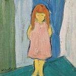 Narcisa, óleo sobre tela, 40 x 30 cm, 1971. Coleção Particular.