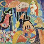 Os Bichos II, acrílica sobre tela, 55 x 65 cm, 1986. Coleção Particular.