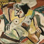 Nu sentado, óleo sobre tela, 50 x 60 cm, 1977. Coleção Particular.