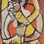 Figura, óleo sobre tela, 50 x 40 cm, 1978. Coleção Particular.