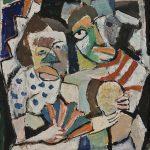 Carnaval, óleo sobre tela, 50 x 40 cm, 1979. Coleção Particular.