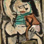 Menino com estilingue, óleo sobre tela, 74 x 54 cm, 1977. Coleção Particular.