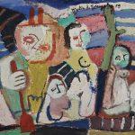 Série Macunaíma, vinílica sobre tela, 40 x 50 cm, 1978. Coleção Particular.