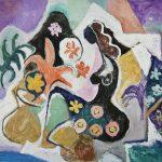 A Florista, acrílica sobre tela, 110 x 150 cm, 2007 / 2008. Coleção Ana Carolina e Fernando Barrueco.