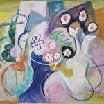 A Florista, acrílica sobre tela, 110 x 150 cm, 2007 / 2008. Coleção Particular.