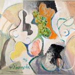 Sem Título, acrílica sobre tela, 80 x 100 cm, 1996. Coleção Particular.