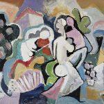 Tango, Memórias, acrílica sobre tela, 50 x 80 cm, 2000 / 2005. Coleção Particular, Dijon, França.