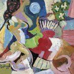 Tango, Vigília, acrílica sobre tela, 38 x 46 cm, 2000 / 2005. Coleção Particular, Dijon, França.